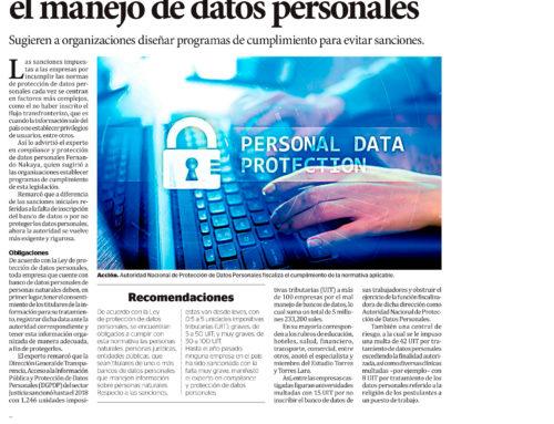 Mayor exigencia a empresas en el manejo de datos personales