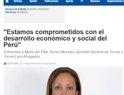 Estamos comprometidos con el desarrollo económico y social del Perú