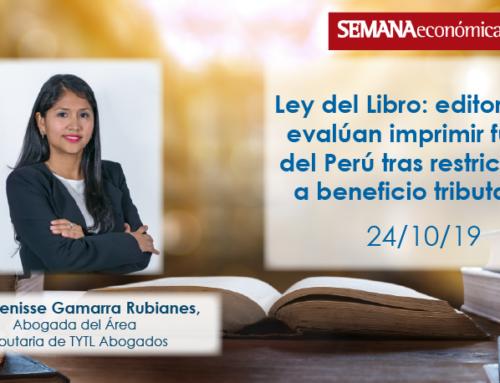 Ley del Libro: editoriales evalúan imprimir fuera del Perú tras restricción a beneficio tributario