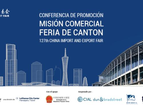 CONFERENCIA DE PROMOCIÓN MISIÓN COMERCIAL FERIA DE CANTON