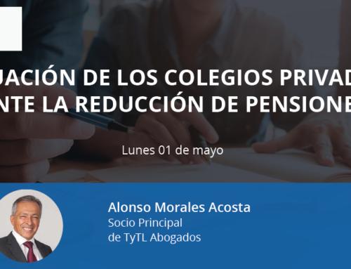 Situación de los colegios privados ante la reducción de pensiones