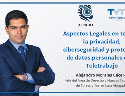 Aspectos Legales en torno a la privacidad, ciberseguridad y protección de datos personales en el Teletrabajo