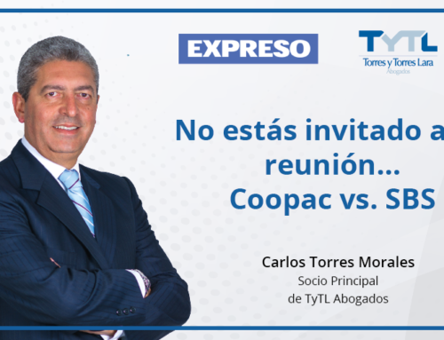No estás invitado a mi reunión… Coopac vs. SBS