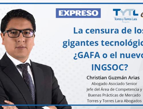 La censura de los gigantes tecnológicos: ¿GAFA o el nuevo INGSOC?