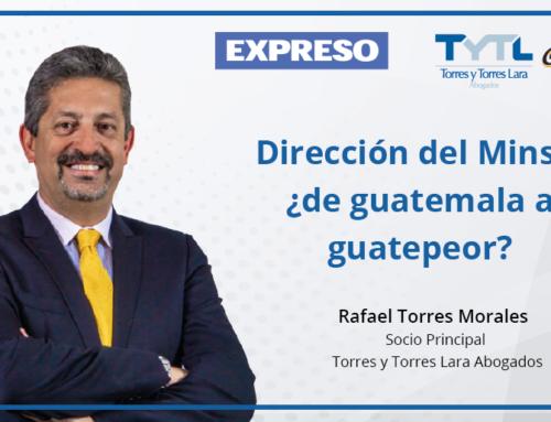 Dirección del Minsa: ¿de guatemala a guatepeor?
